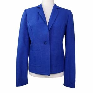 Jones NY Collection Silk Blend Lined Blazer    VGC